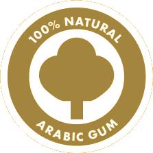 100% natural arabic gum