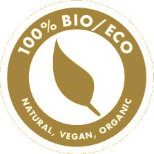 100% Bio/Eco - Natural, Vegan and Organic